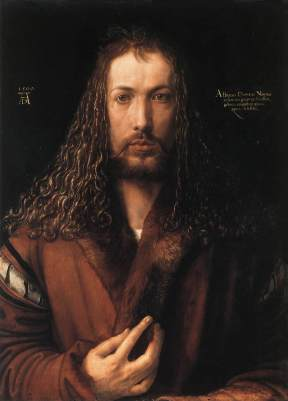 Self Portrait at 28 by Dürer
